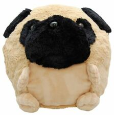 Cozy Time Giant Pug Dog Handwarmer. Big Soft Plush Cuddly Toy.