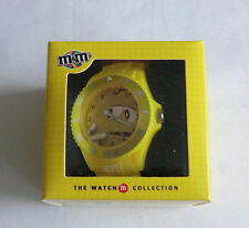 M&M 's The Watch Collection Armbanduhr Yellow Neu  siehe Fotos