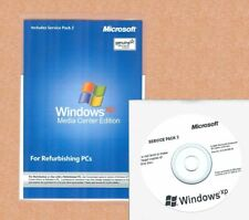 NEW Windows XP Media Center Edition SP3 Install Reinstall Disc Repair CD No Key