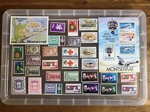 Montserrat Stamps-Mint unchecked (cc587)