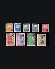 Vintage: Colombia 1951 Og Nh Scott C208-216 $68.25 Lot # Col1951X
