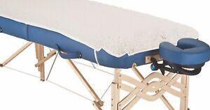 Fleece Underlay and Warmer -  Massage Table Protector - Washable