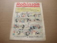 *** ROBINSON *** n° 137 - 11/12/1938