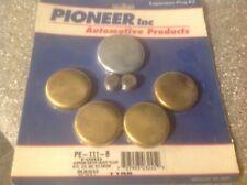 Pioneer Automotive Prd Brass Expansion Freeze Plug Kit PE111B Ford V8 272 - 312