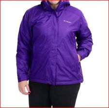 Columbia Women  Plus Size Insulated hooded Jacket Coat Size 1X New ski