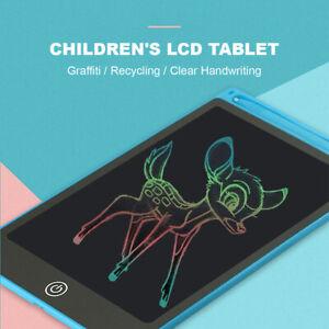 "8.5""/ 10""/ 12"" LCD Writing Tablet Drawing Board Colorful Handwriting Pad Kids"