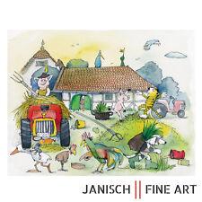 """JANOSCH - ' """"und nun"""", sprach der Hahn', handsigniert, Auflage 99, 2013!"""