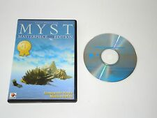 MYST MASTERPIECE EDITION complete PC game boxed with manual in original case