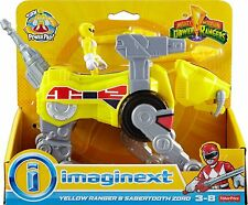 Fisher-Price Imaginext: Power Rangers Yellow Ranger and Sabertooth Action Figure