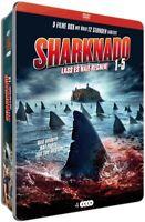 HASSELHOFF,DAVID/REID,TARA - SHARKNADO 1-5 LIMITED-METALLBOX COLL,  4 DVD NEUF