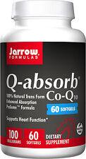 Jarrow Formulas Q-Absorb CoQ10, 100 mg 60 softgels