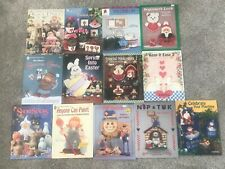 Lot 14 Assorted Tole Decorative Painting Pattern Instruction Books