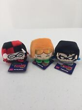 3 Kawaii Cubes Plush Nightwing Harley Quinn Poison Ivy With Tags Wish Factory