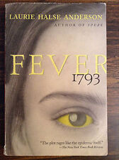Fever 1793 by Laurie Halse Anderson (paperback) store#2952