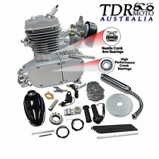 80cc 2 Stroke Engine Motor Kit Set Fits Motorized Bicycle Cycle Mountain Bike