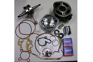 Minarelli AM6 - Kit cilindro 75 DR albero motore cuscinetti guarnizioni paraoli