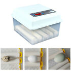 16 Egg Incubator Fully Automatic Digital LED Hatch Turning Chicken Duck Goose