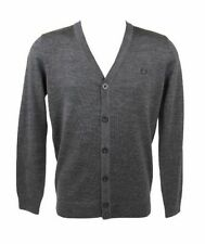 Fred Perry Men's Button-Front Regular Jumpers & Cardigans