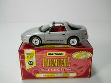 Matchbox Pontiac Firebird Formula Ram Air w/ Box Premiere 1/64 Scale A4