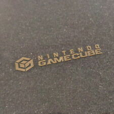 GameCube Gold Metallic Label / Aufkleber / Sticker / Badge / Logo [163c]