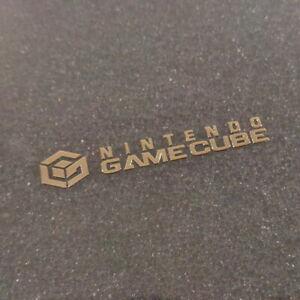 GameCube Gold Metallic Label / Aufkleber / Sticker / Badge / Logo [163c]