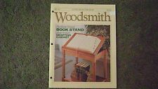 Woodsmith # 82, August 1992, Drafting Cabinet, Book Stand, LQQK!!!!!
