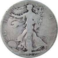 1927 S Liberty Walking Half Dollar AG About Good 90% Silver 50c US Coin