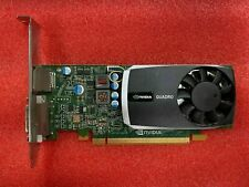 Nvidia Quadro 600 1GB DDR3 PCIe Video Graphics Card High Profile