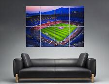 Camp Nou Stadium Football FC Barcelona  Art Poster Grand format large Print 03