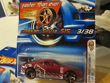 Hot Wheels Nissan Silvia S15 2006 First Editions #003 Faster Than Ever