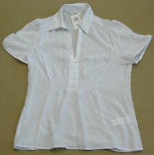 Marks and Spencer Women's Short Sleeve Sleeve Collared Blouse Tops & Shirts