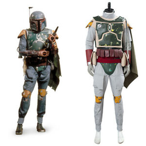 Star Wars Boba Fett Cosplay Costume Outfit Halloween Suit Carnival Uniform