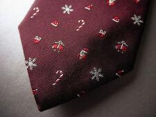 New! Brooks Brothers Christmas Holiday Golden Fleece Logo SILK TIE  ~ $79 NWOT