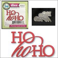 Christmas Ho Ho Ho metal die words Impression Obsession cutting dies DIE595-B