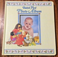 1998 BABY'S FIRST PHOTO ALBUM THE FIRST BIBLE COLLECTION
