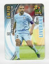figurina PANINI CALCIO CARDS GAME 2005-06 N. 76 LAZIO LIVERANI
