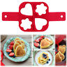 4 Hloes Pancake Nonstick Cooking Tool Egg Ring Maker Cheese Cooker Pan Egg Mold