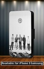 Neighbourhood Quote Band Rock Pop Faux Leather Flip Phone Case Cover Y26
