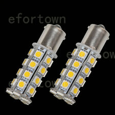 2 x 1156 30-5050-SMD Car LED Warm White BA15S Light Bulb Lamp Turn Backup P21W
