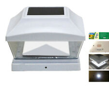 Contemporary post lights lights ebay solar white cap light with bright white 2 smd led for pvc vinyl post pl253 aloadofball Images