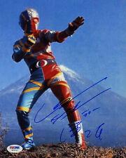Daisuke Ban SIGNED 8x10 Photo Kikaida Inazuman *RARE* PSA/DNA AUTOGRAPHED PROOF