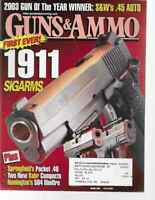 Guns & Ammo Handguns Magazine March 2004 S&W's .45 Auto, 1911 Sigarms