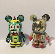 Disney Vinylmations Robots 4 Cruella De Vil Bot and Robots Radio-Bot