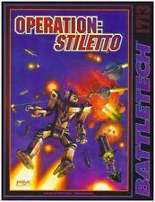 OPERATION: STILETTO BATTLETECH CAMPAIGN SCENARIO BOOK