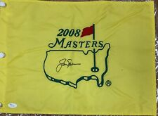 Jack Nicklaus Autograph Signed 2008 Masters JSA Certification With Letter