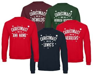 Personalised Christmas with the Jumper, Ugly Christmas jumpers, Family Christmas