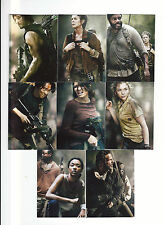 The Walking Dead Trading Cards Season 4 Part 2 Chase Card Sub Set D1-8