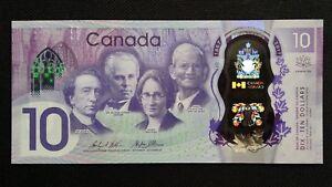 CANADA $10 Dollars 2017 P112 150th Anniversary Commemorative UNC Banknote