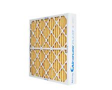 24x25x4 MERV 11 HVAC pleated air filter (6)