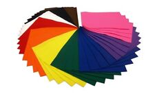 BUMPER CLASSPACK OF A4 FELT SHEETS: 40 SHEETS, 10 COLOURS